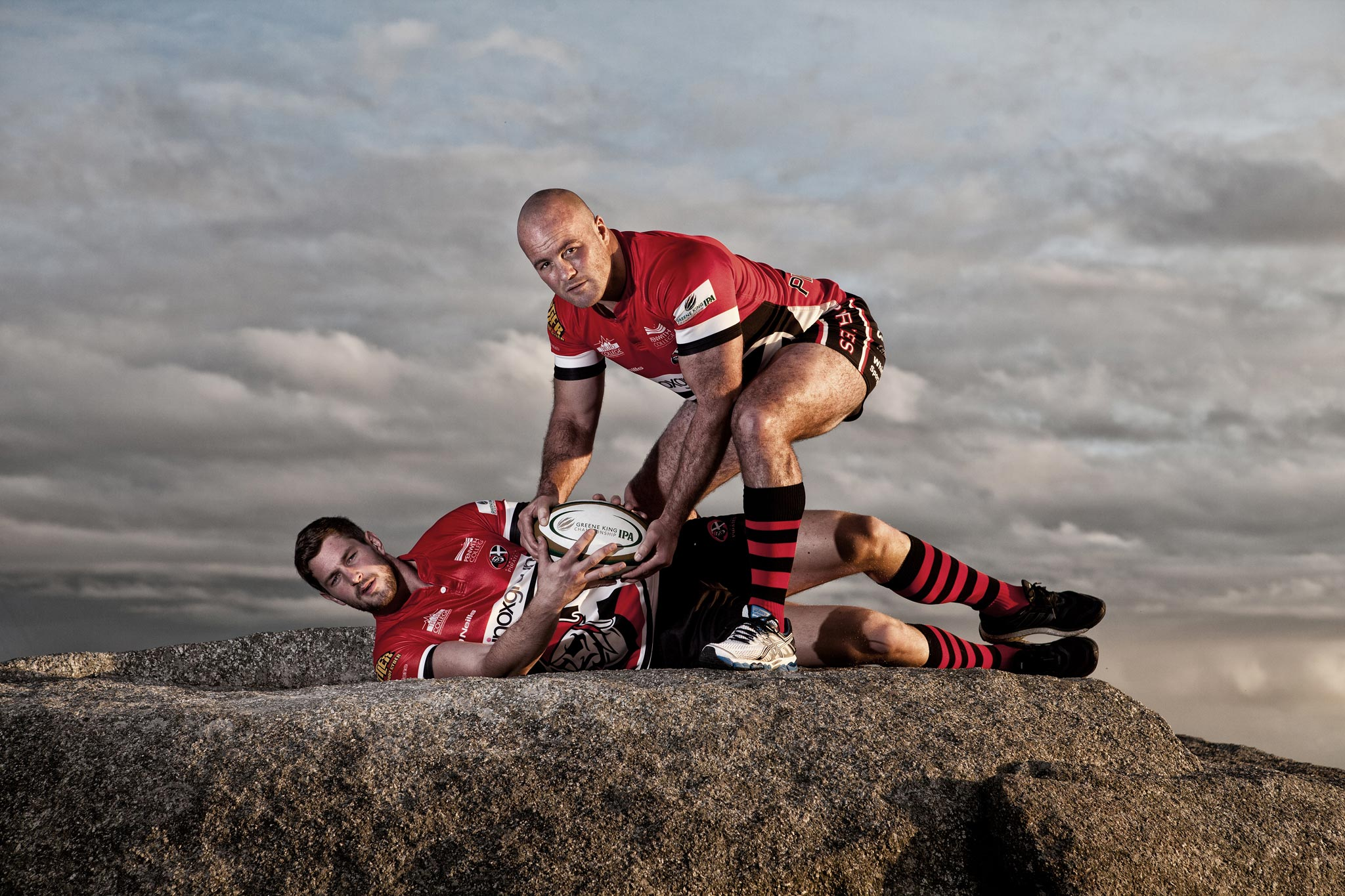 Cornish Pirates Rugby Team Cornwall Editorial PR Photographer