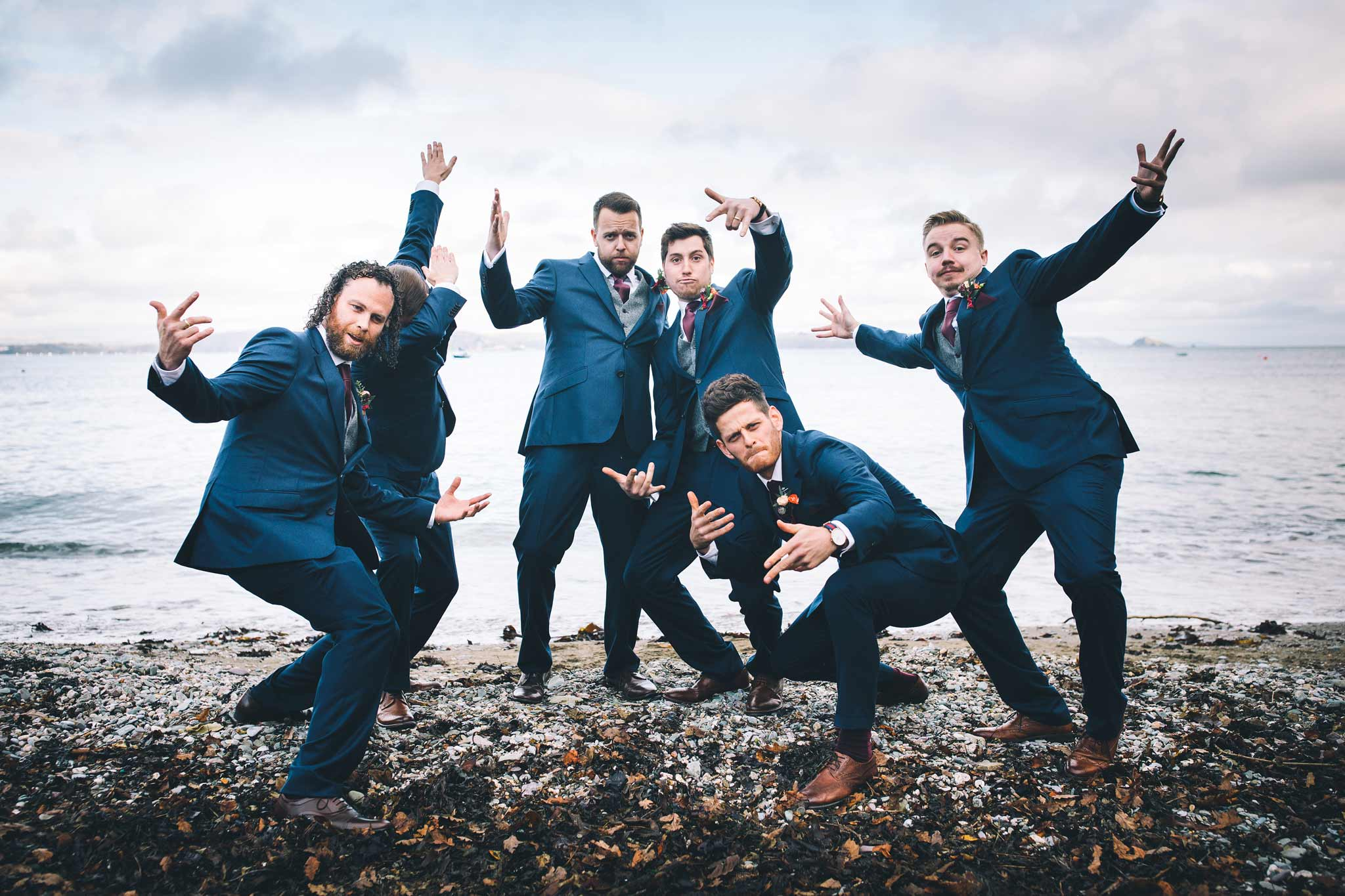 Wedding Photographer Polhawn Fort 8