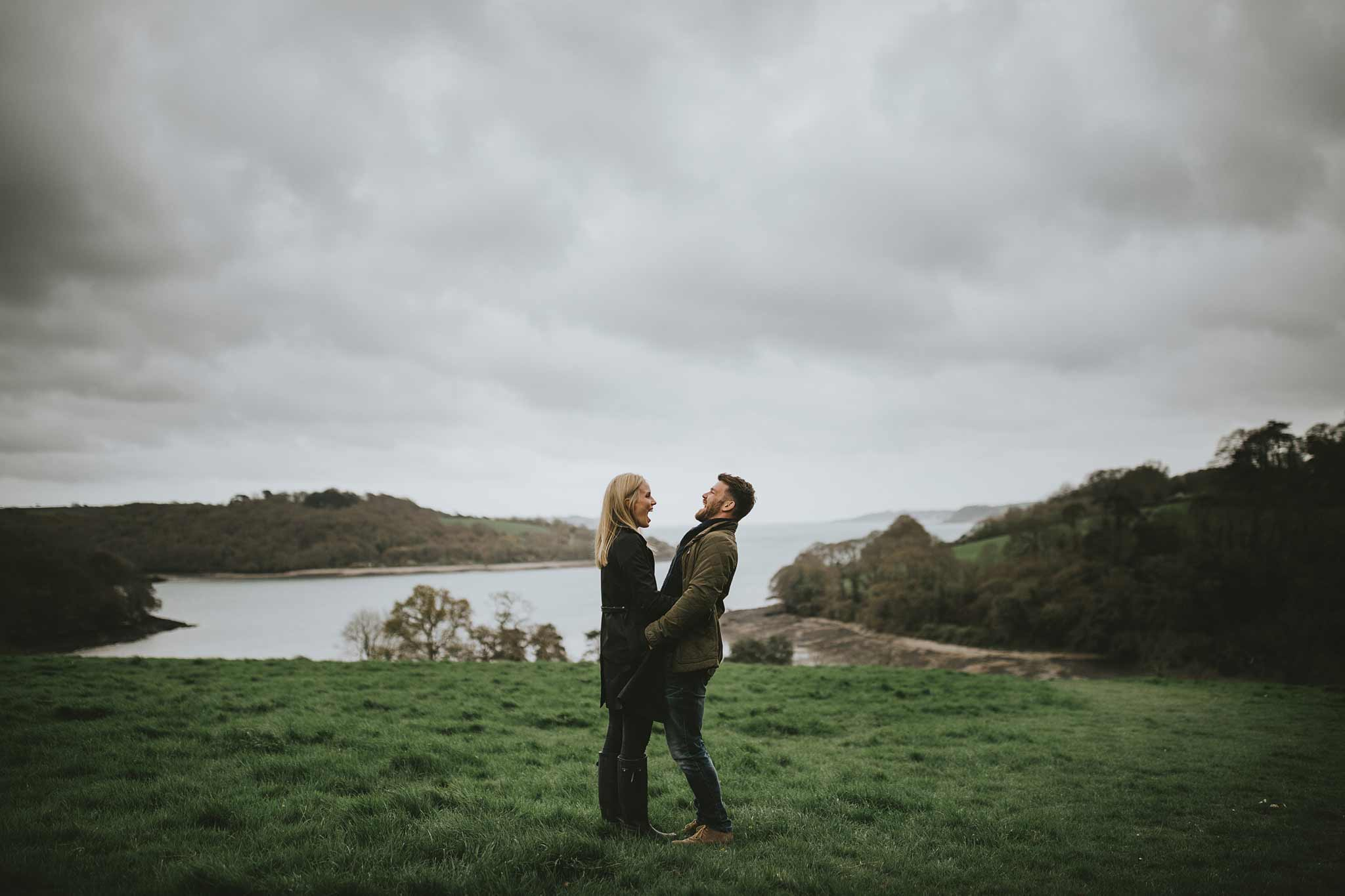 Engagement Photographs Cornwall 1