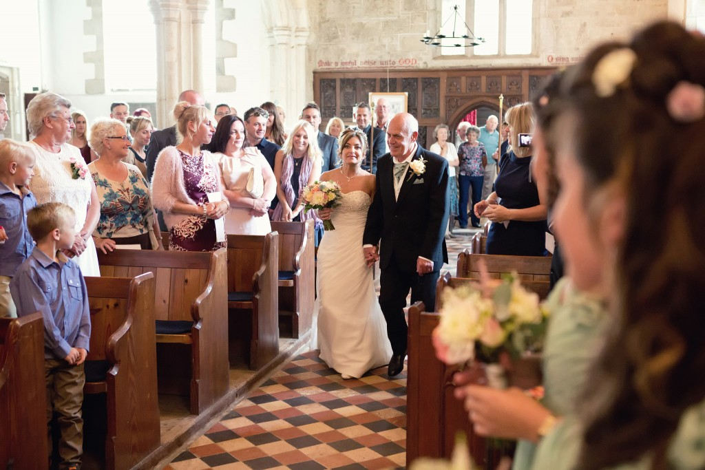 Wedding Photographer Perranporth Church
