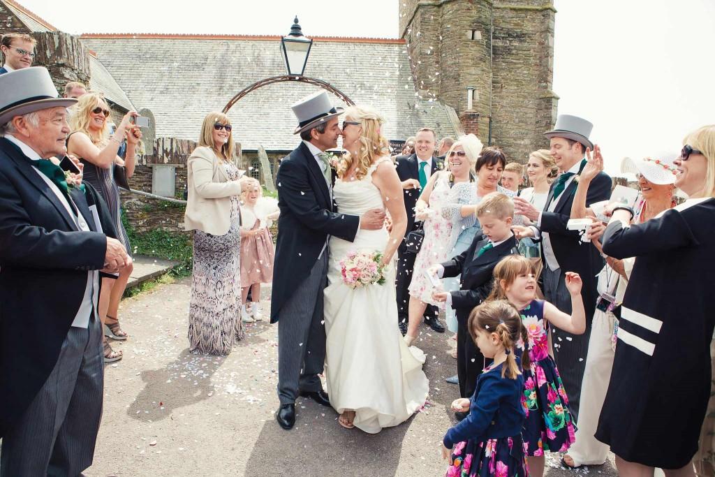 St Wenburgh's Church Wembury Wedding