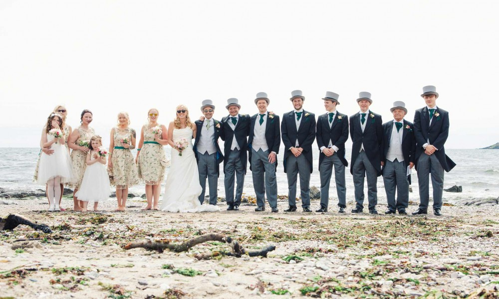 Jon and Zsa – a Devon wedding.