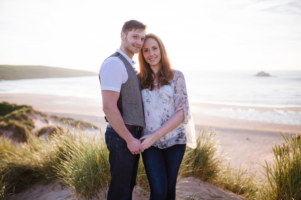 Engagement Photoshoot Crantock