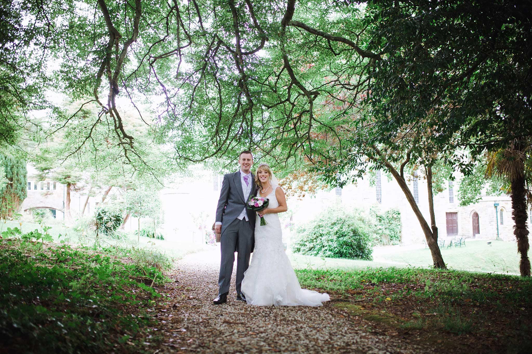 Alverton Hotel Bride and Groom