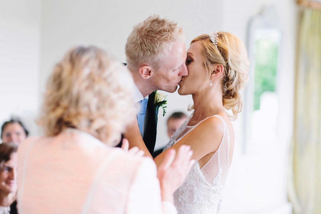 Wedding Kiss Trebah