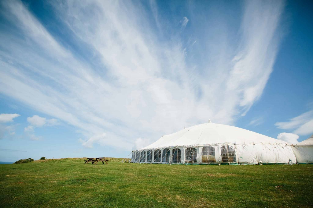 Newdowns Farm St agnes Wedding Venue