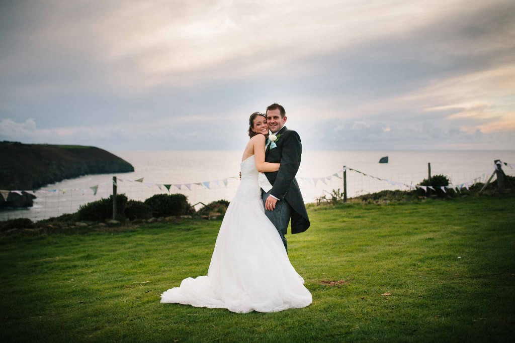 Newdowns Farm St Agnes Wedding Photographer