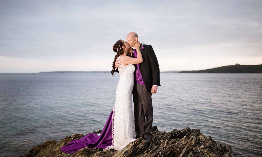 Nicky and Phil – St Mawes Castle Wedding Photographer