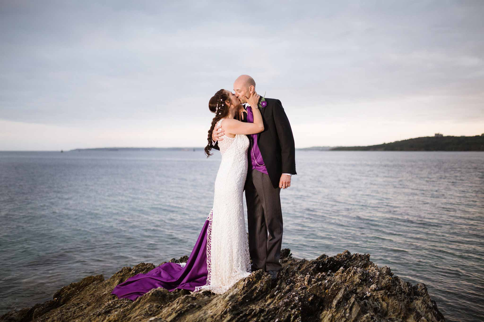 St Mawes Castle Wedding Photographer
