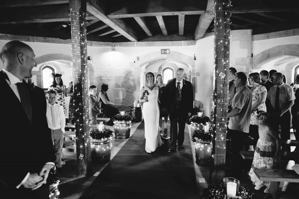 The Gunroom St Mawes Castle Wedding