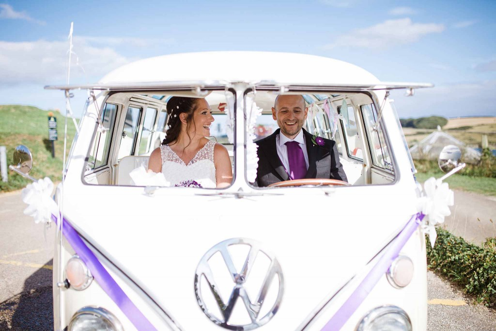 Campervan Wedding Cornwall