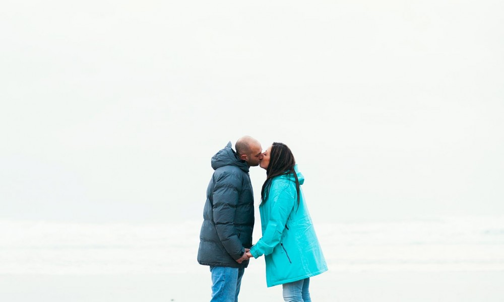 Watergate Bay Engagement Shoot