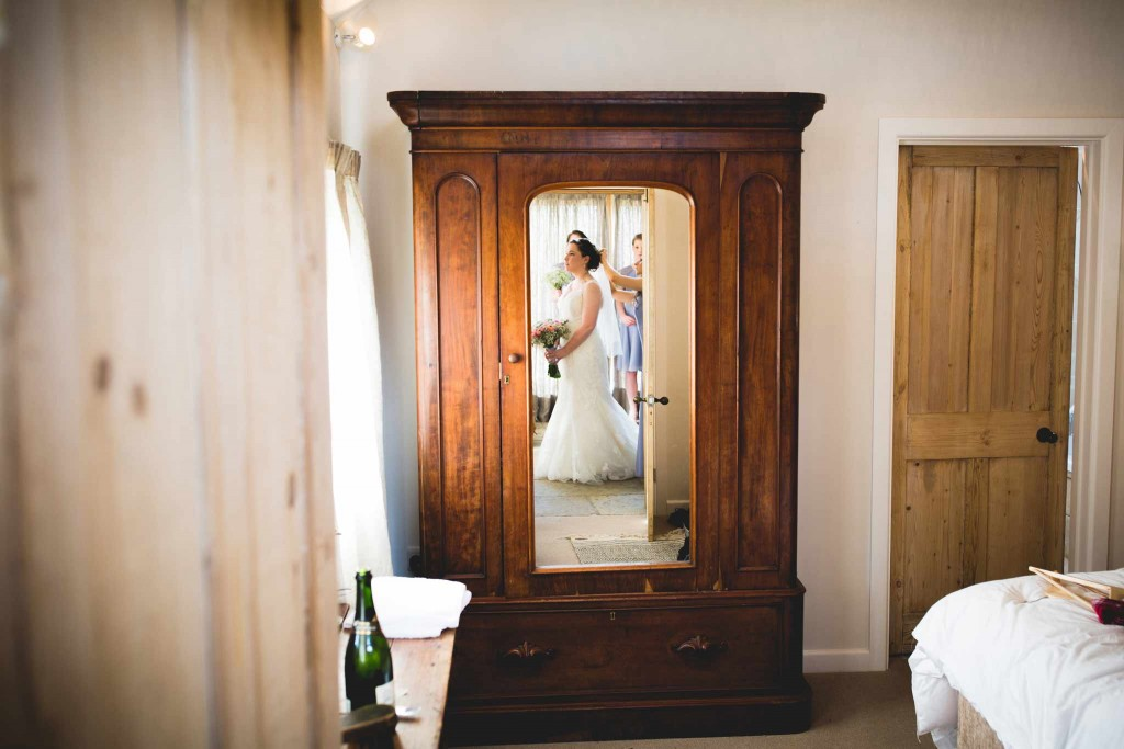 Nancarrow Farm Wedding Bride