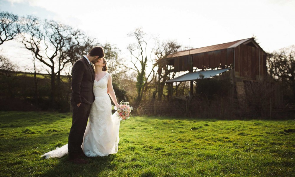 Becky and Josh – Nancarrow Farm Wedding Photographer