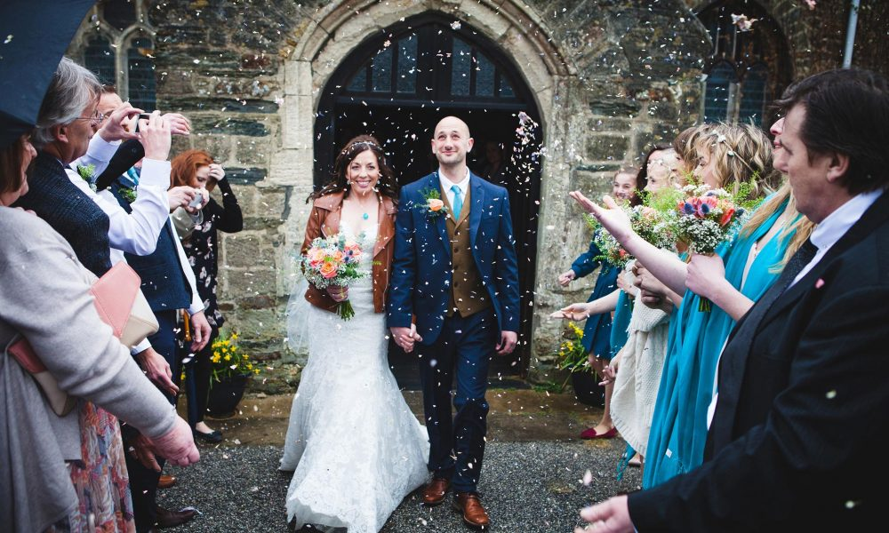 Lauren and Nick | Newquay wedding Photographer