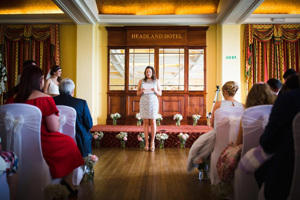 Headland Hotel Wedding Photographer