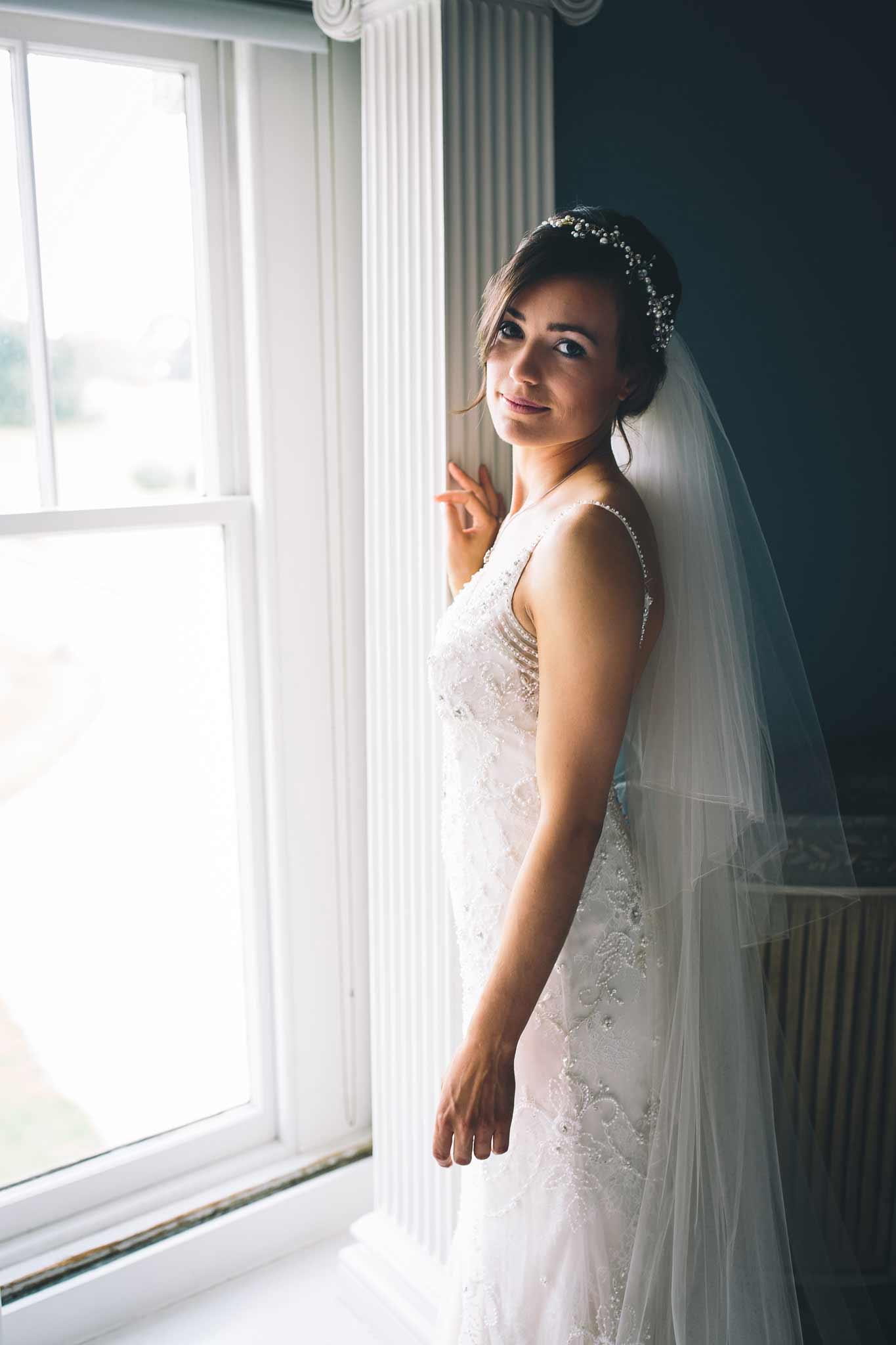 Boconnoc House Wedding Bride