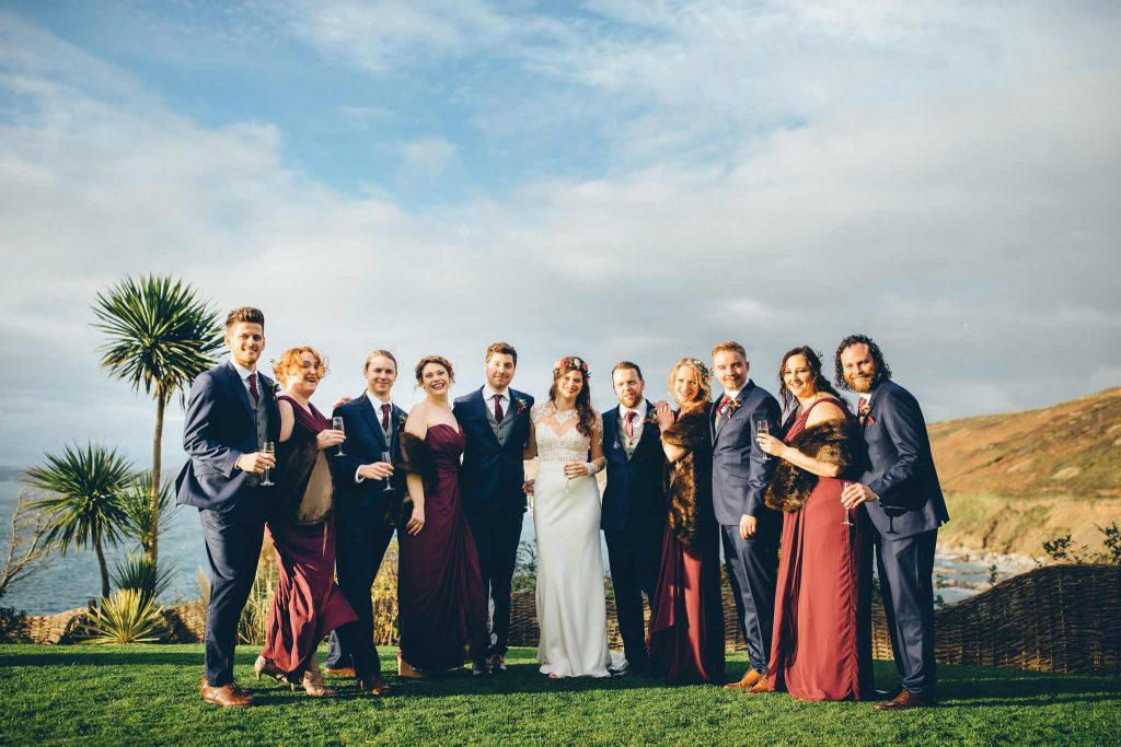 Polhawn Fort Wedding 4