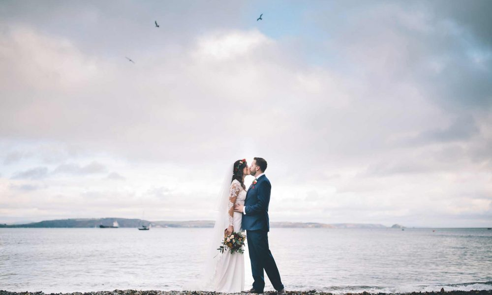 Katie and Paul – Polhawn Fort Wedding Photographer