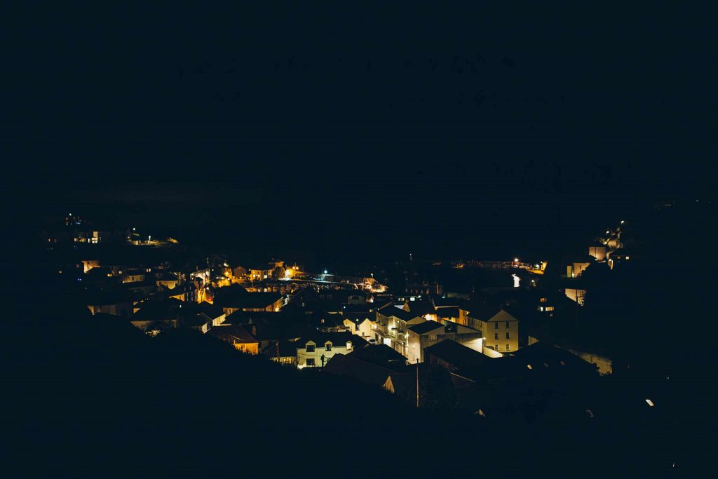 Mevagissey at Night