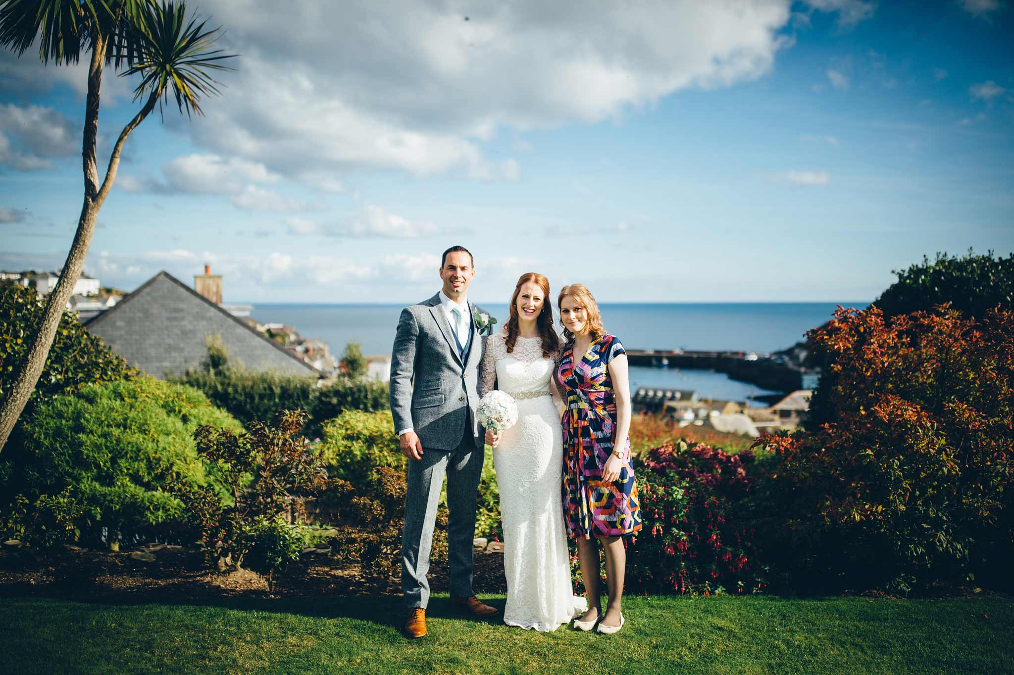 Wedding Photographer Polpier and Penpol 6