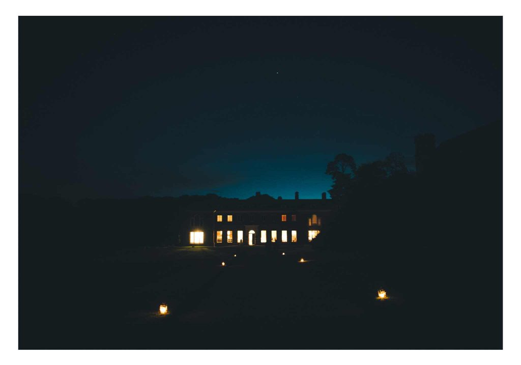 Boconnoc House at Night