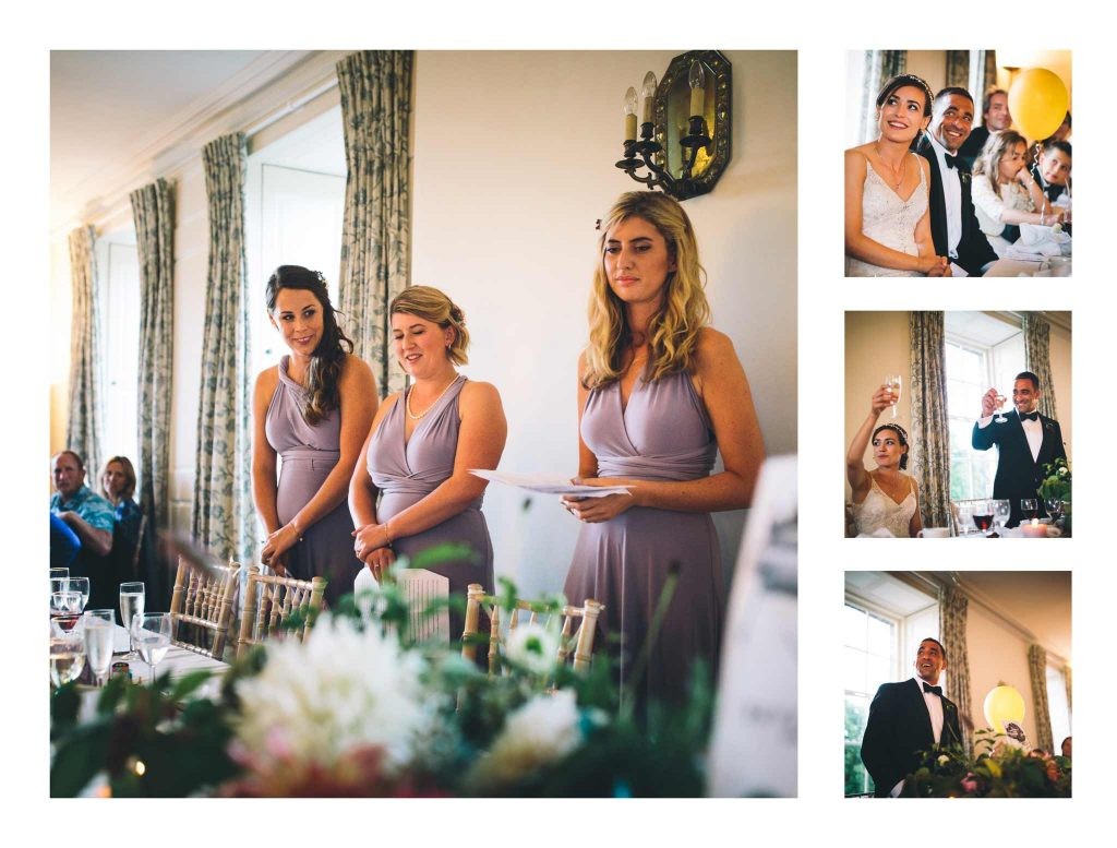 Speeches Boconnoc House Wedding