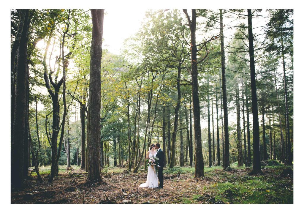 Woods at Boconnoc House Wedding