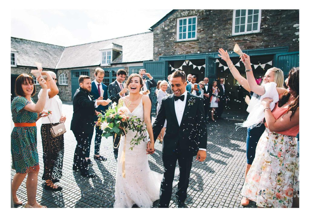 Wedding at Boconnoc House