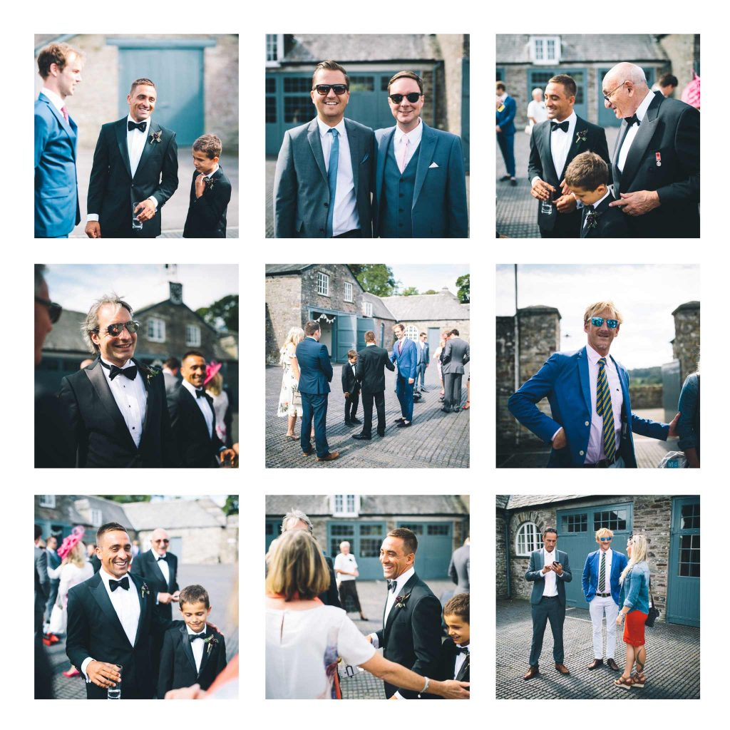 Boconnoc House Wedding in Stables