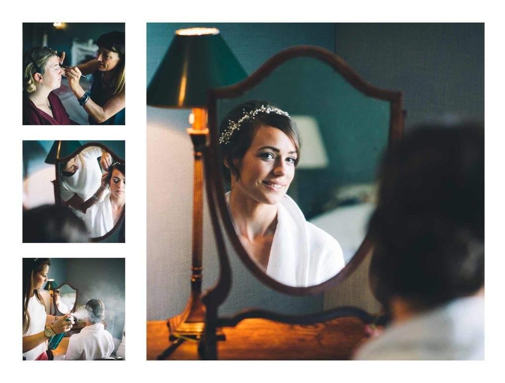 Bride and Mirror Boconnoc House