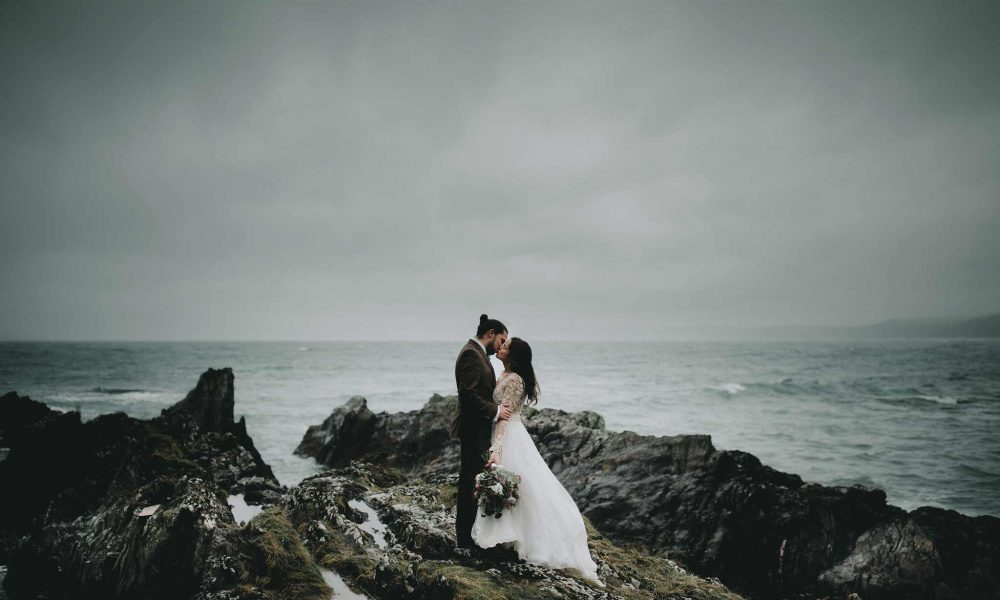 Polhawn Fort Winter Wedding – Plymouth Wedding Photographer