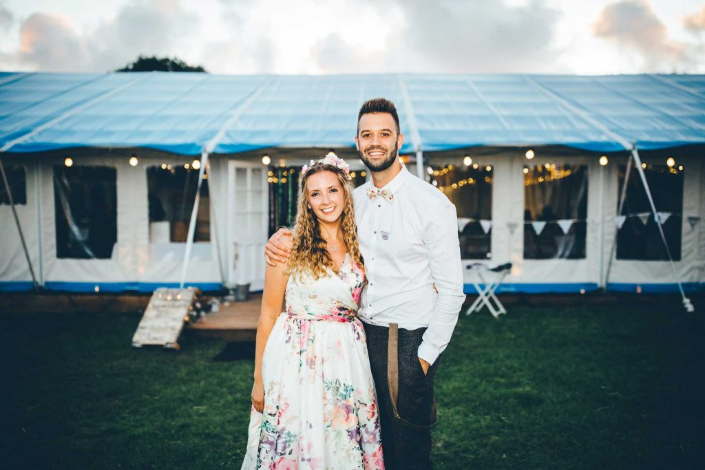 Cornish Tipi Wedding Photographer 108