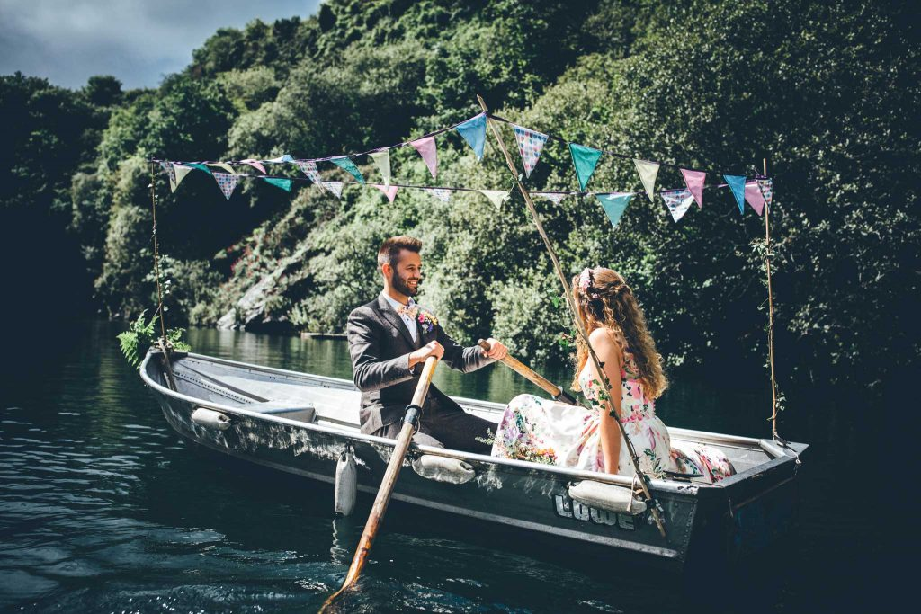Cornish Tipi Wedding Photographer 68