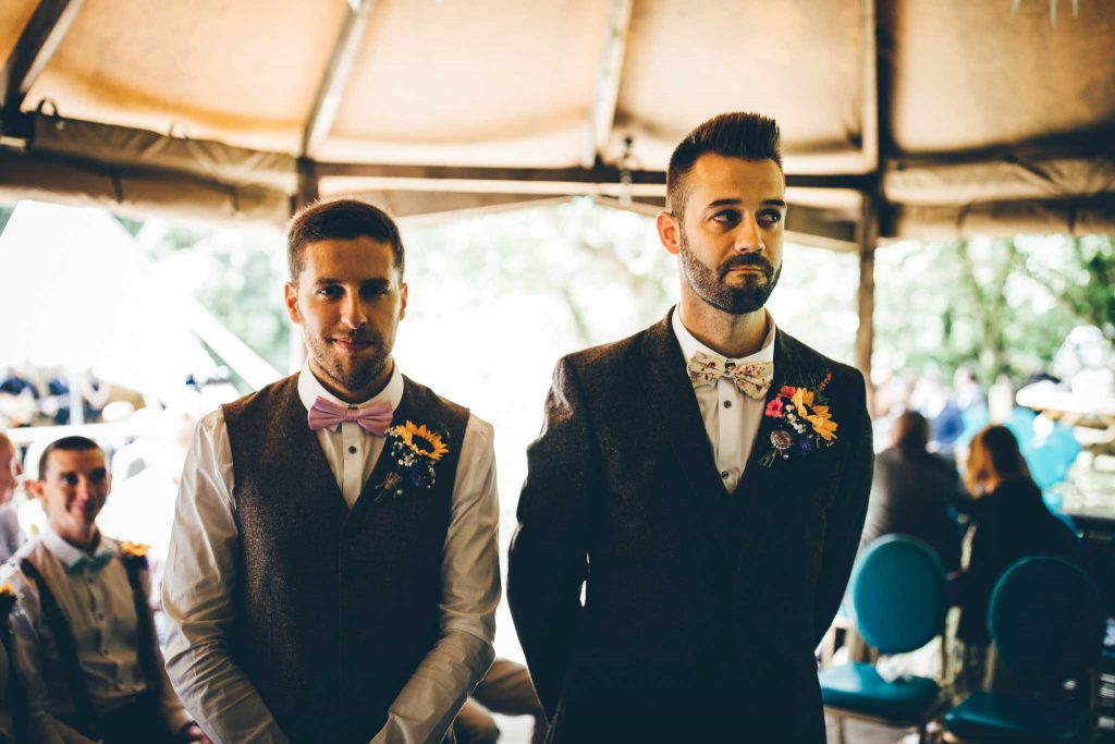 Cornish Tipi Wedding Photographer 37