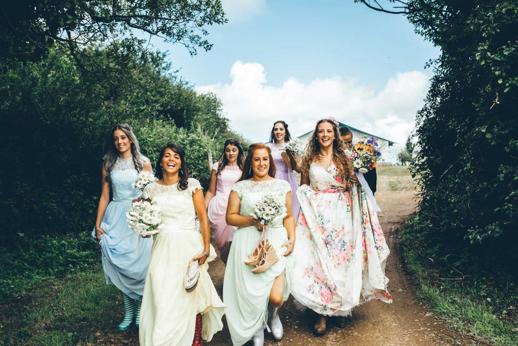 Cornish Tipi Wedding Photographer 32