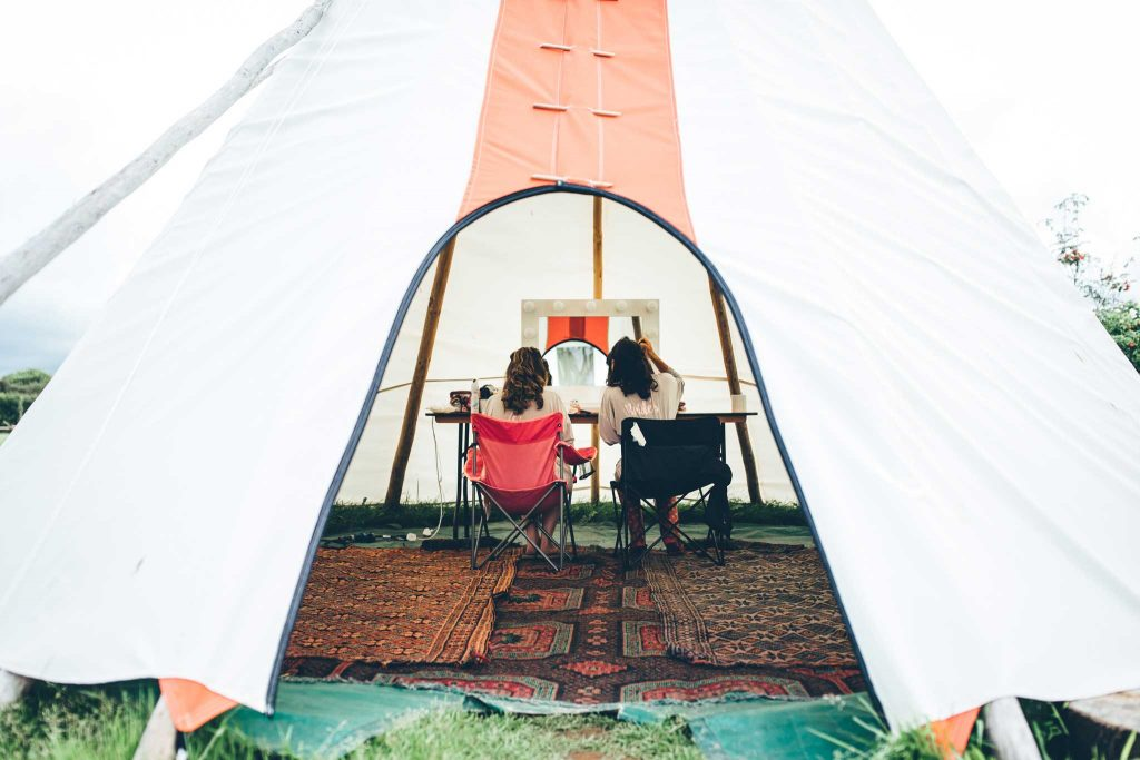 Cornish Tipi Wedding Photographer 12