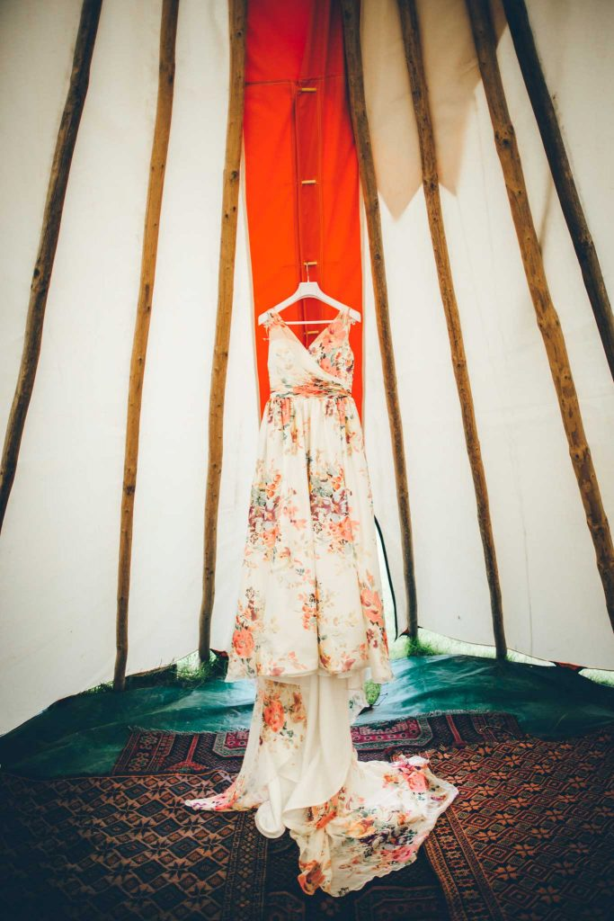 Cornish Tipi Wedding Photographer 1