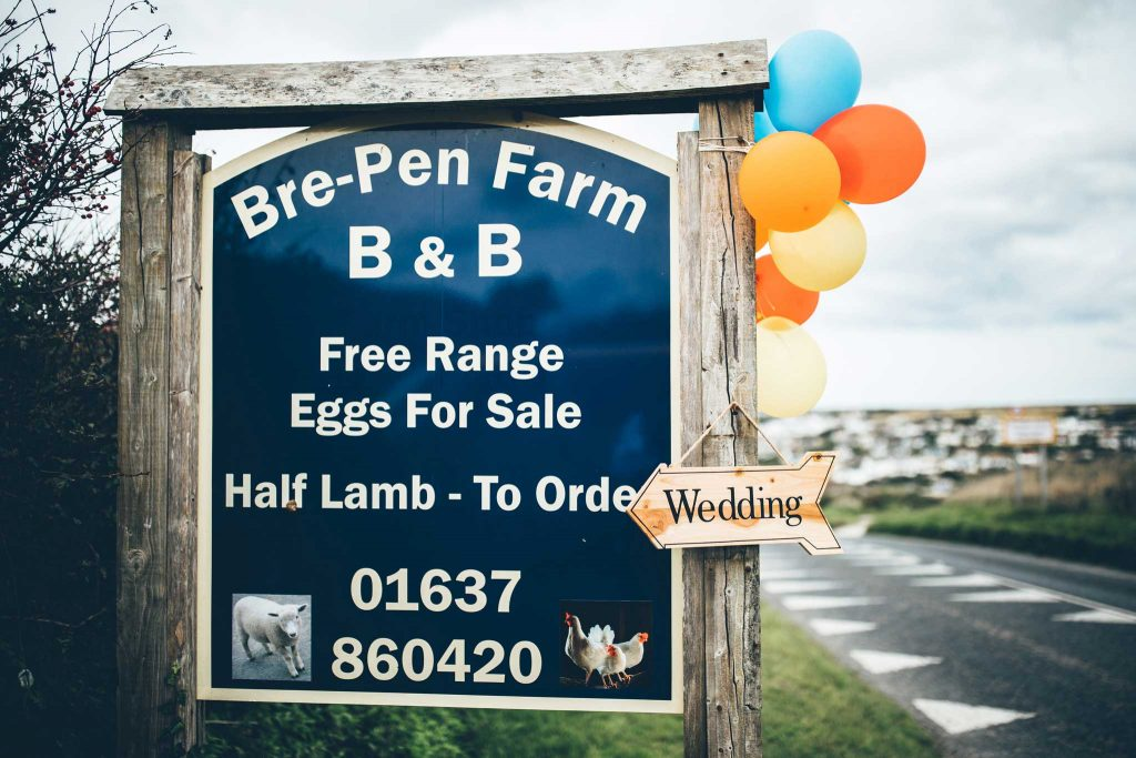 Bre Pen Farm Wedding Photographer 1