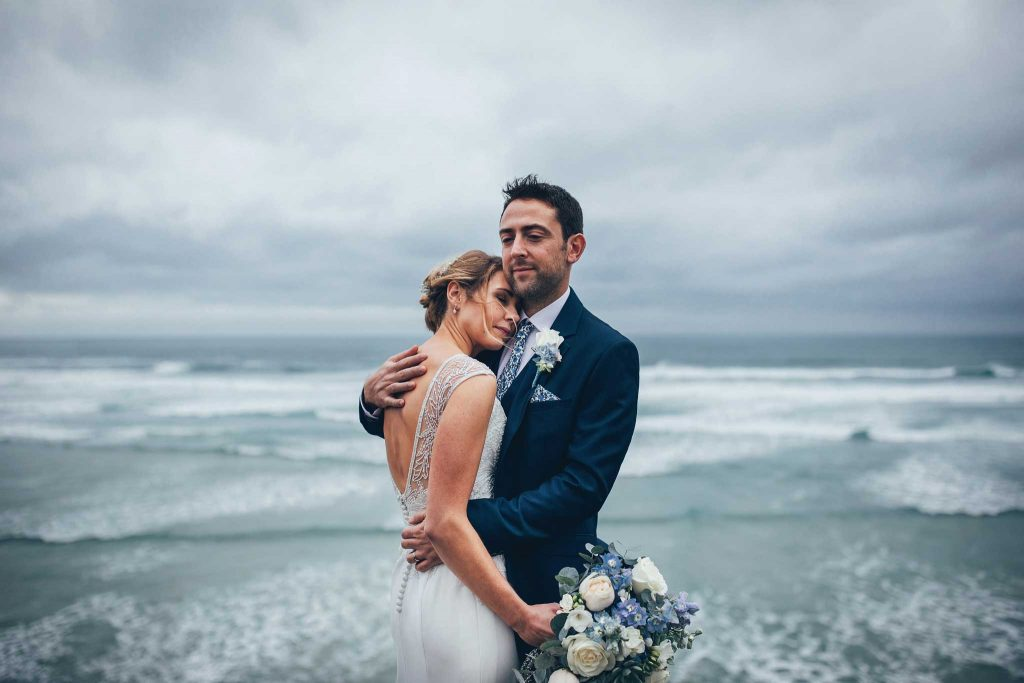 cornwall coast wedding
