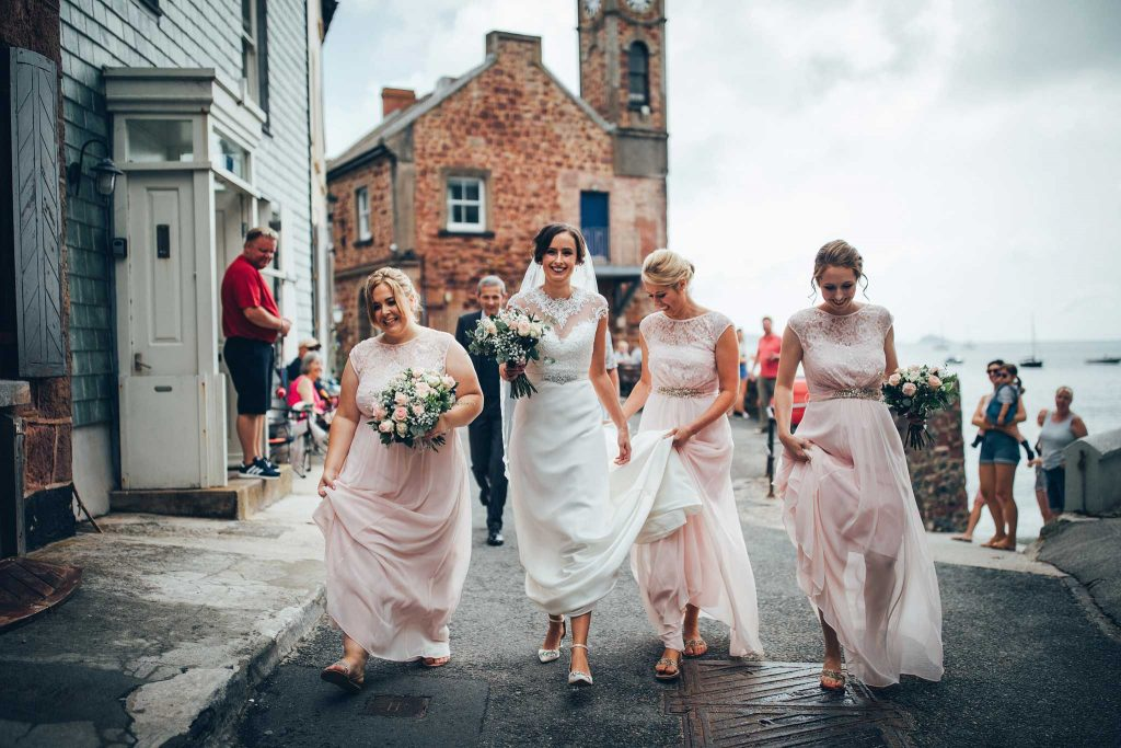 reportage wedding photography cornwall