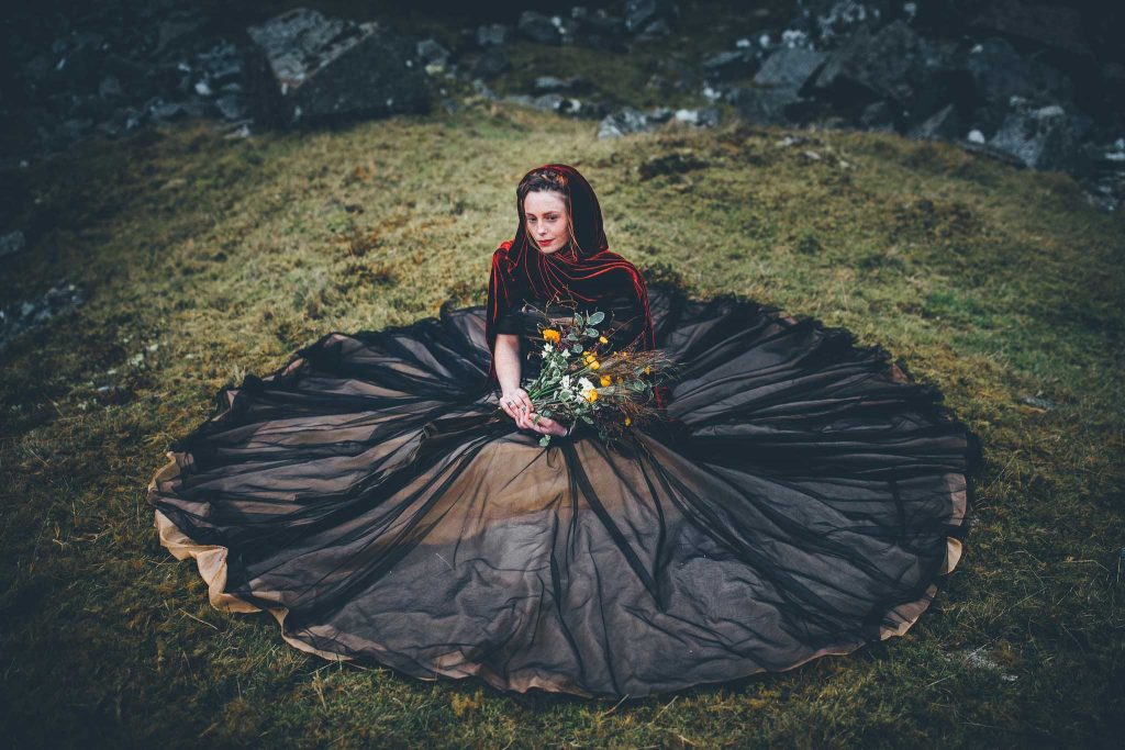 Dartmoor Wedding Wuthering Heights Shoot 22