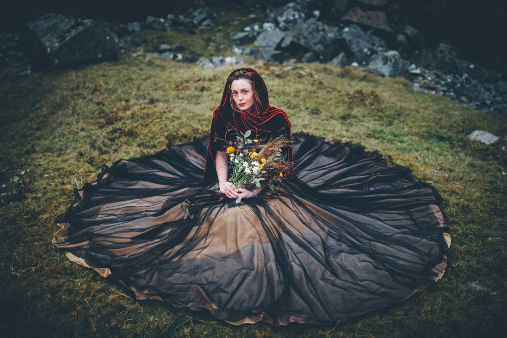Dartmoor Wedding Wuthering Heights Shoot 19