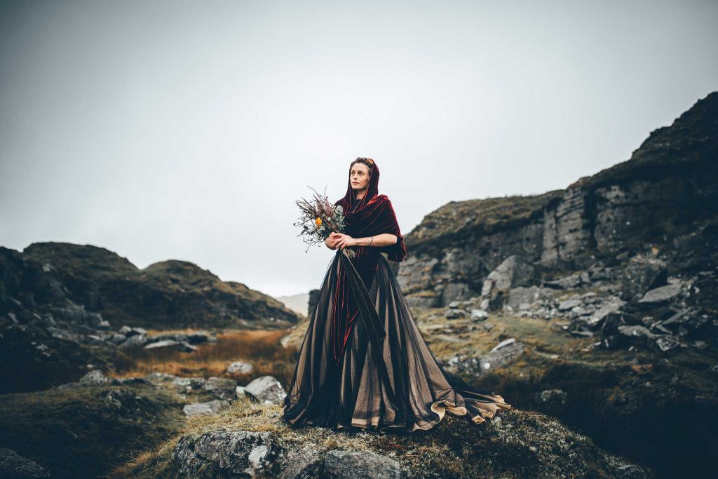 Dartmoor Wedding Wuthering Heights Shoot 16