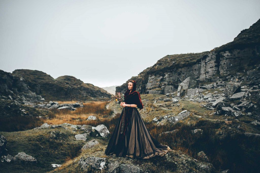 Dartmoor Wedding Wuthering Heights Shoot 15