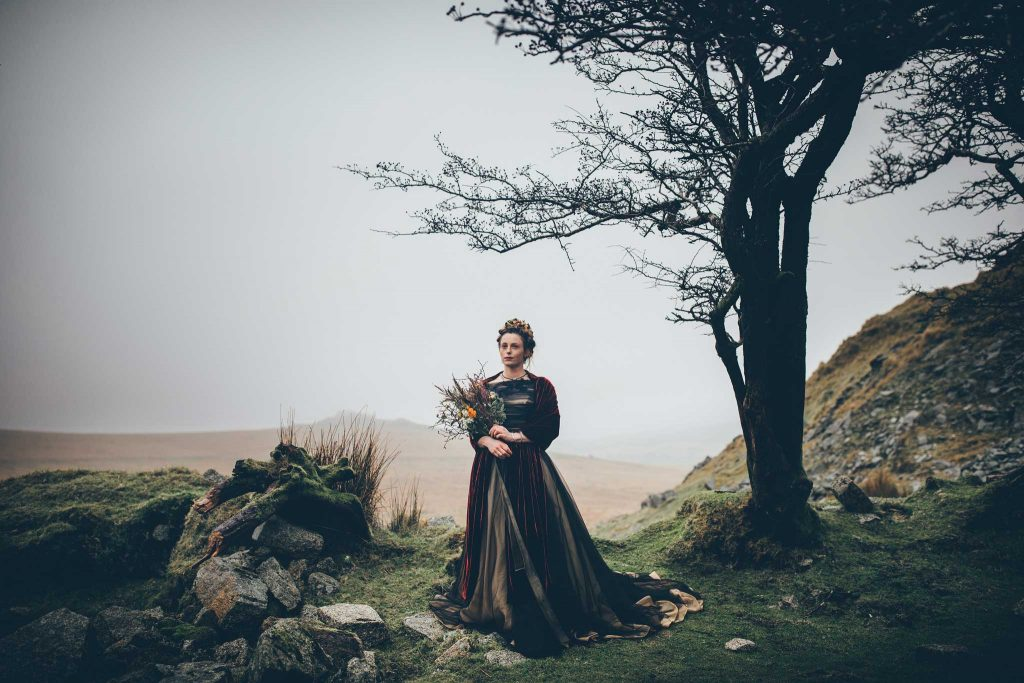 Dartmoor Wedding Wuthering Heights Shoot 14
