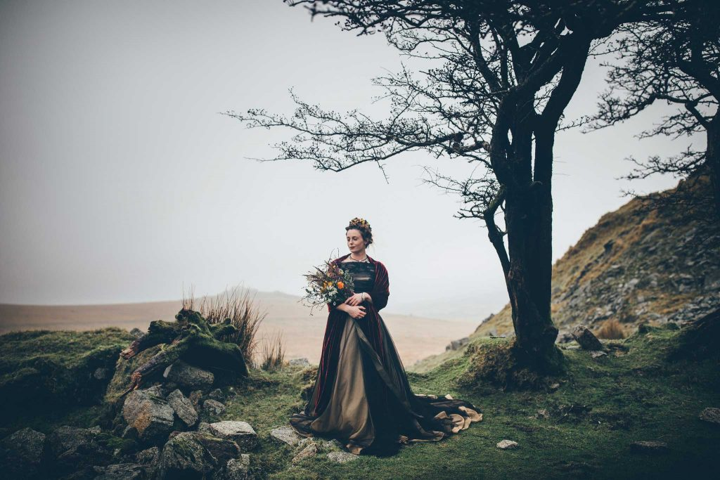 Dartmoor Wedding Wuthering Heights Shoot 13