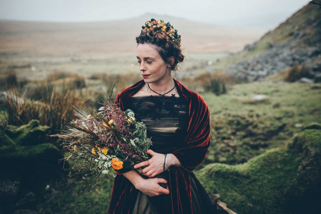 Dartmoor Wedding Wuthering Heights Shoot 12