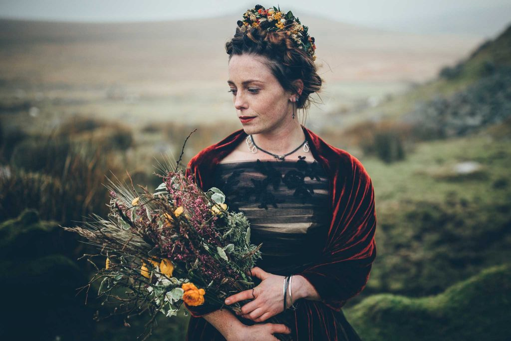 Dartmoor Wedding Wuthering Heights Shoot 11