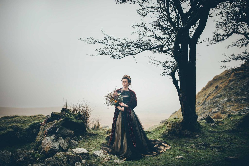 Dartmoor Wedding Wuthering Heights Shoot 10